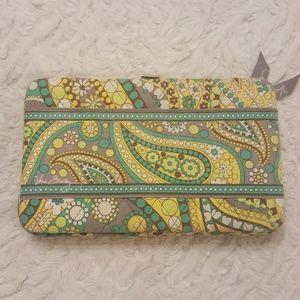 Vera Bradley Lemon Parfait Opera Wallet